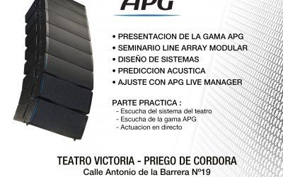 SEMINARIO PRESENTACION PRODUCTOS APG EN ESPAÑA!!!